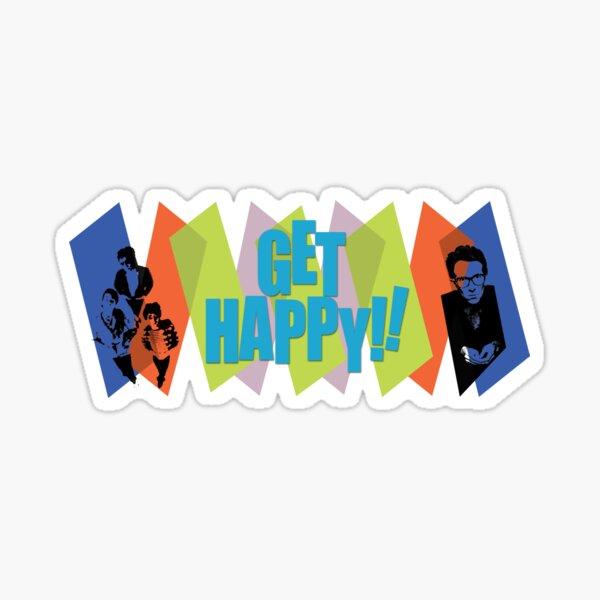 Get Happy Sticker