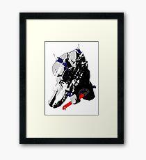 Panthro - distressed Framed Print