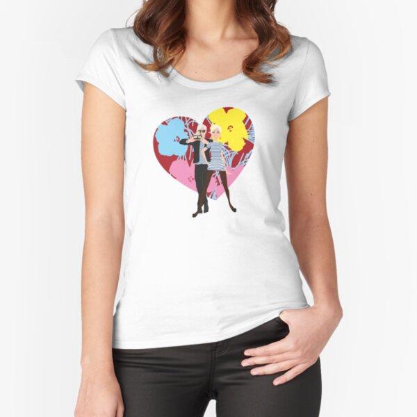Andy & Edie tribute 8 T-shirt échancré