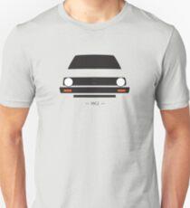 MK2 einfaches Frontenddesign Unisex T-Shirt