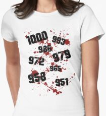1000 minus 7 Tokyo Ghoul Women's Fitted T-Shirt
