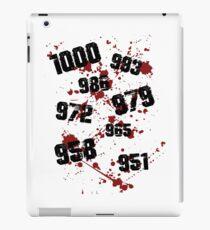 1000 minus 7 Tokyo Ghoul iPad Case/Skin