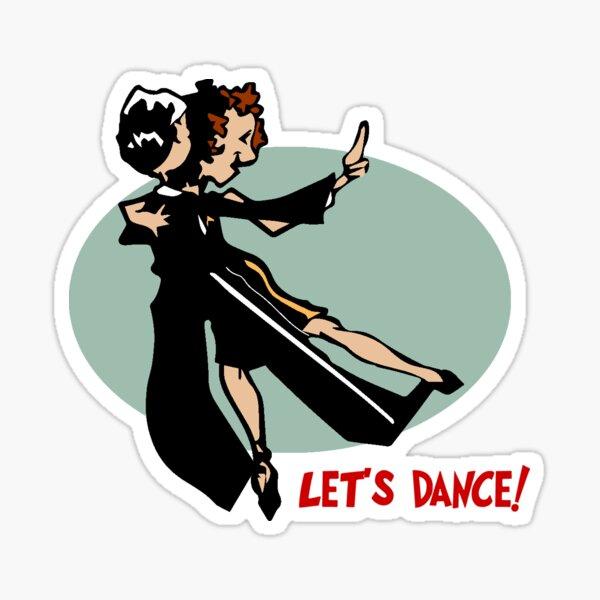Let's Dance! Sticker