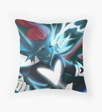 Determination of the Undying Throw Pillow