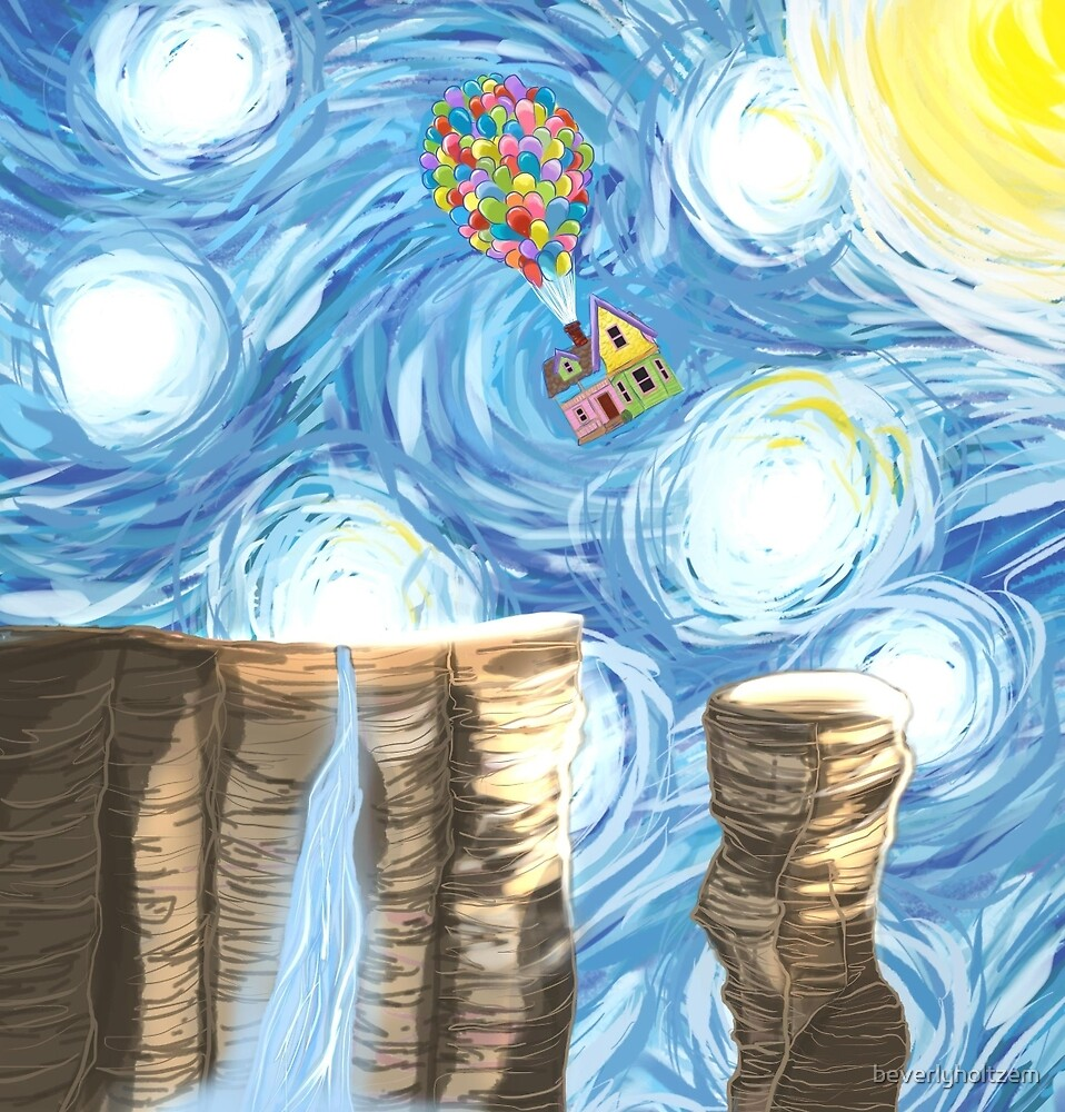 Up in the Sky by beverlyholtzem