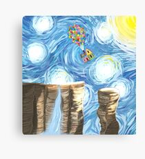 Up in the Sky Canvas Print