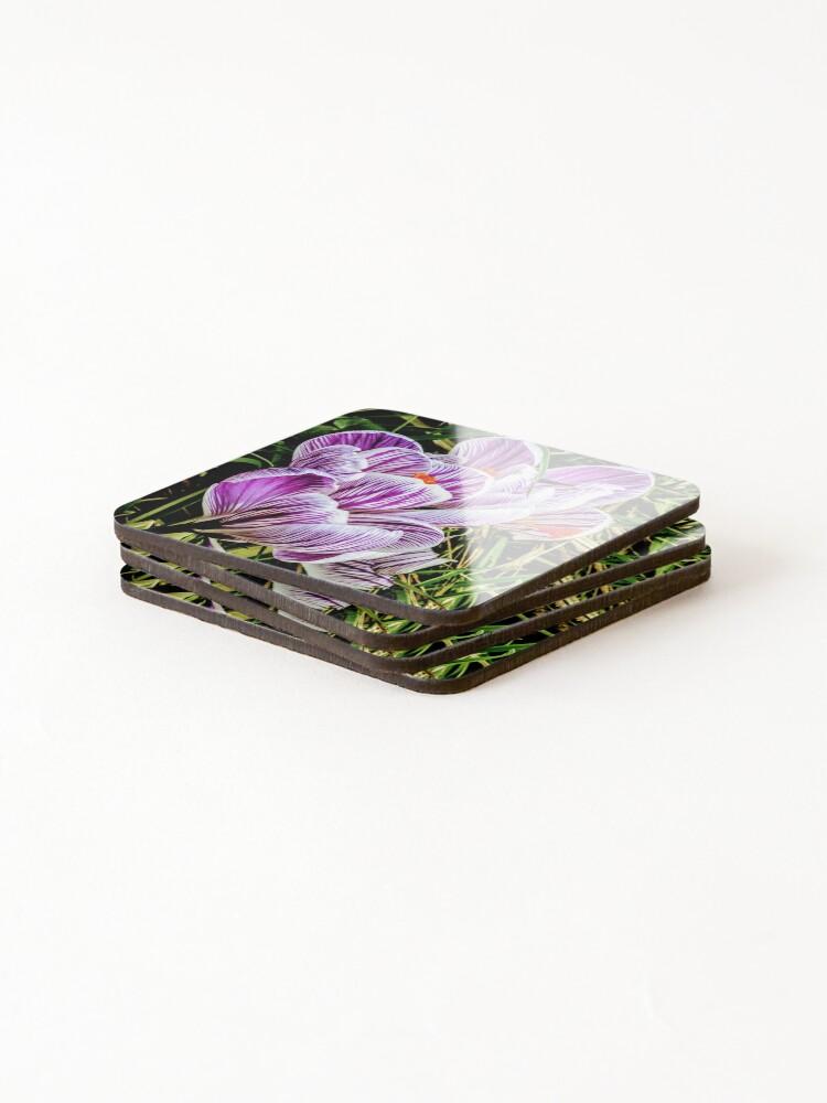 Alternate view of Flowers Coasters (Set of 4)