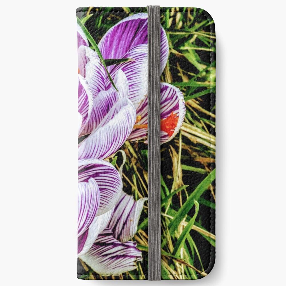 Flowers iPhone Wallet