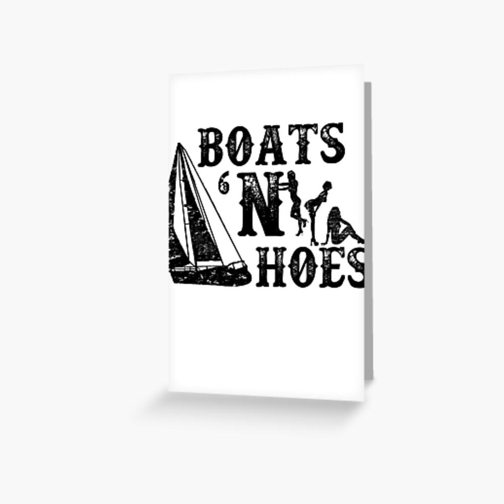 Boats 'N Hoes Stiefbrüder Grußkarte