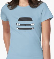 MK6 simple front end design Womens Fitted T-Shirt