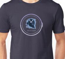 (ghost type) Unisex T-Shirt