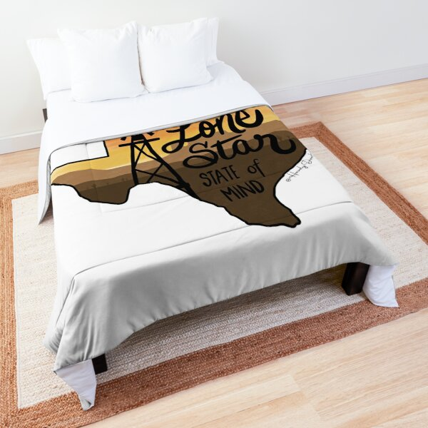 Lone Star State of Mind Comforter