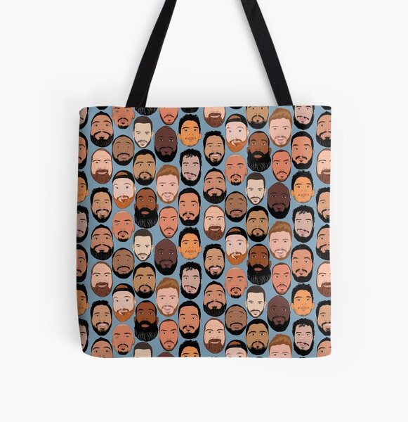 Gay male diversity - blue All Over Print Tote Bag