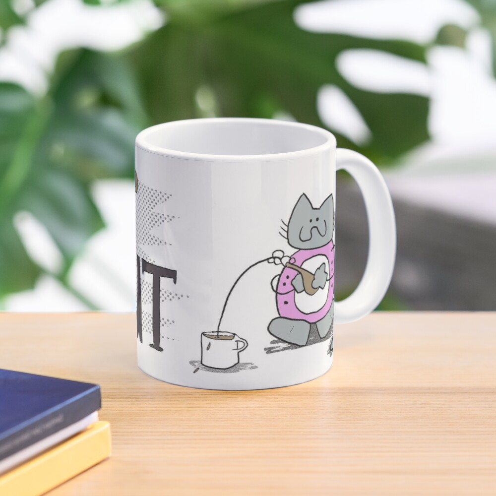Cat Donut Mug Mug