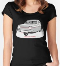 Reliant Regal 3/30 saloon Women's Fitted Scoop T-Shirt