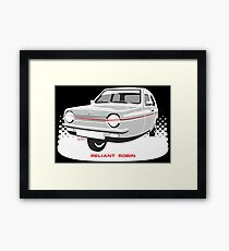 Reliant Regal 3/30 saloon Framed Print