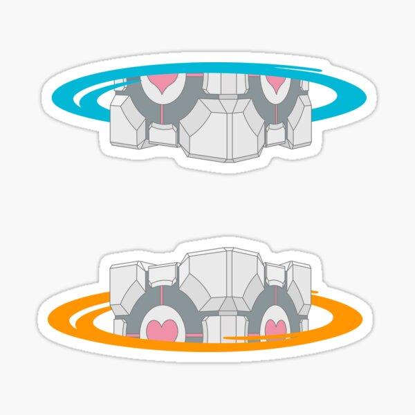 Portal companion Sticker