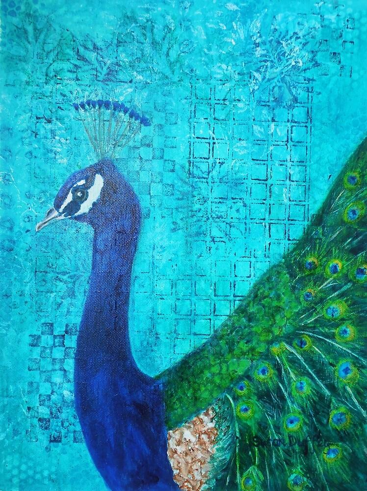 Peacock by Susan Duffey