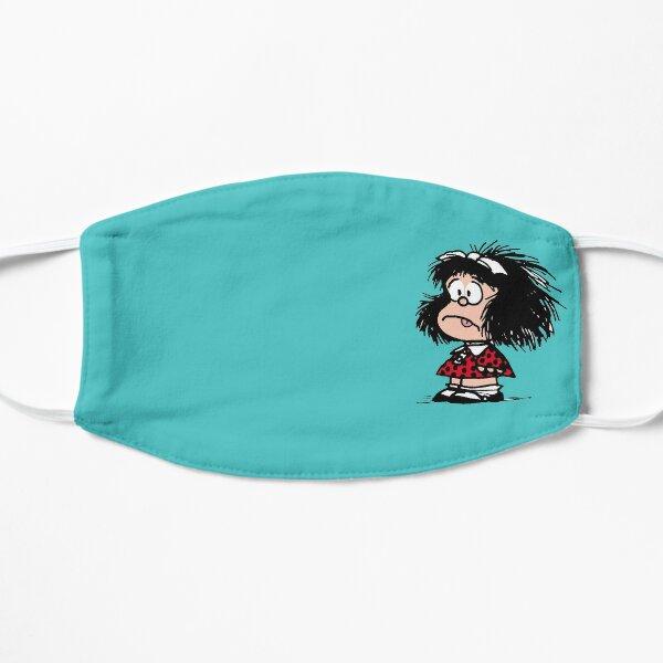 mafalda comic Mascarilla plana