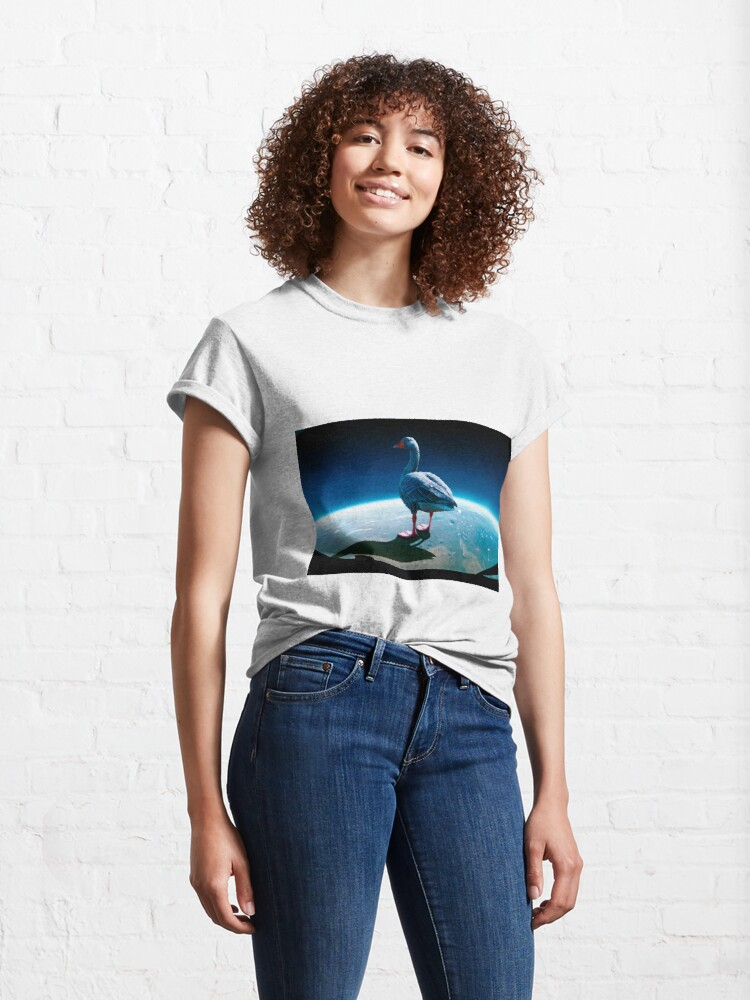 Alternate view of Space Honk Classic T-Shirt