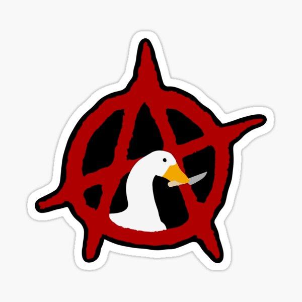 Ganso de la anarquía Pegatina