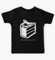 the cake is a lie! Kids Tee