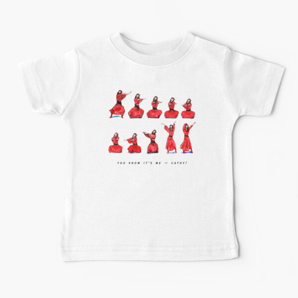 Kate Bush - Wuthering Heights Dance - You Know It's Me - Cathy! Baby T-Shirt