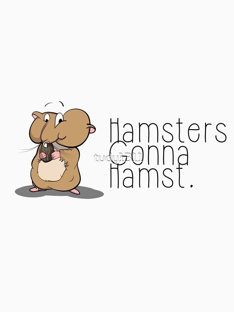 Hamsters gonna hamst - Illustration (v2) by tudy1311