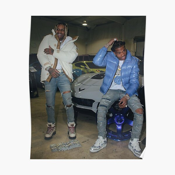 Lil Baby and Lil Durk - T-shirt, hoodie, poster, case, sticker Póster