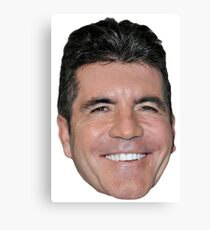 Simon Cowell Canvas Print