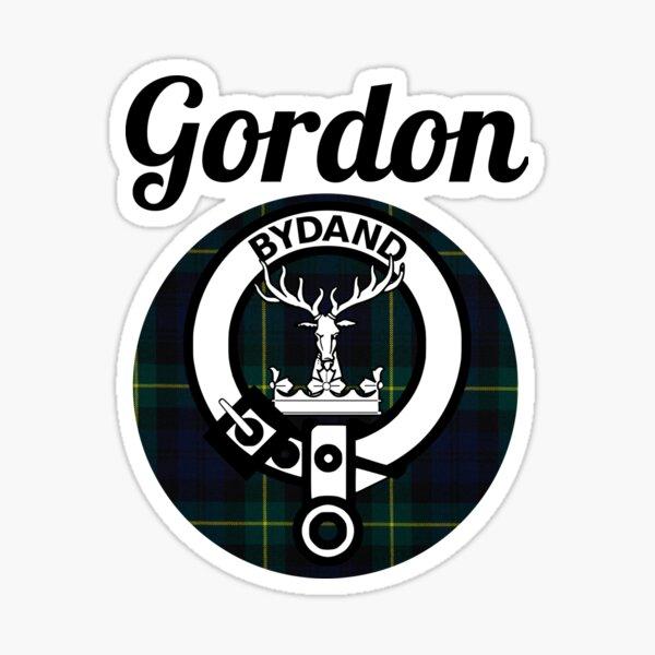 Gordon - Coat Of Arms - Tartan - Clans of Scotland Sticker