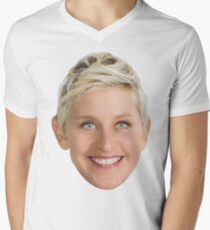 Ellen DeGeneres Men's V-Neck T-Shirt