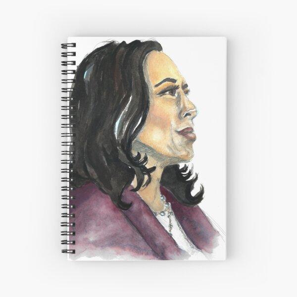 Madam Vice President: Kamala D. Harris Spiral Notebook