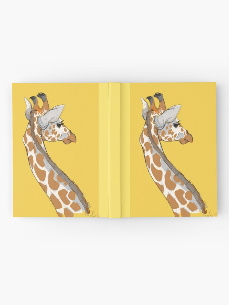 Alternate view of Giraffe Hardcover Journal