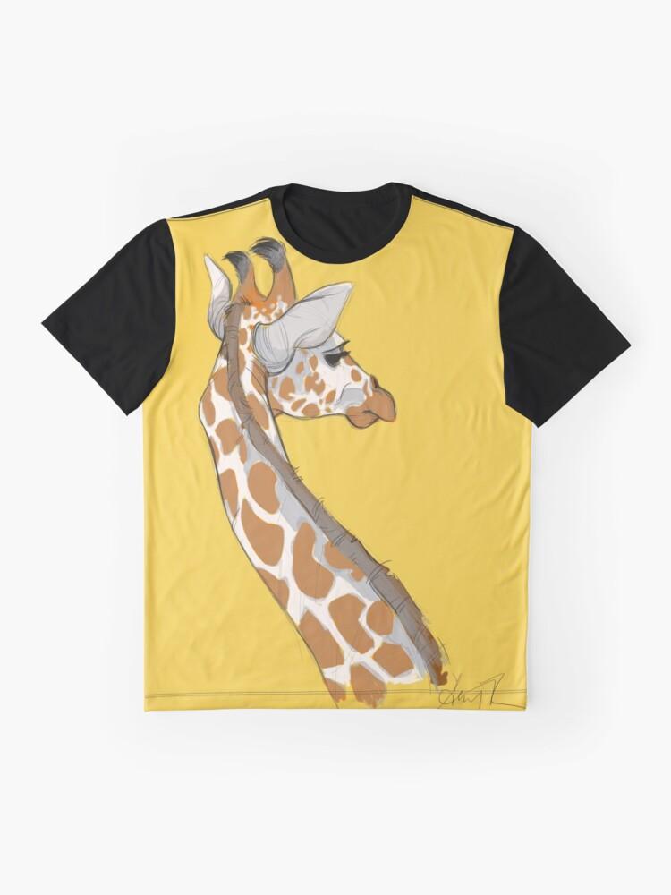Alternate view of Giraffe Graphic T-Shirt