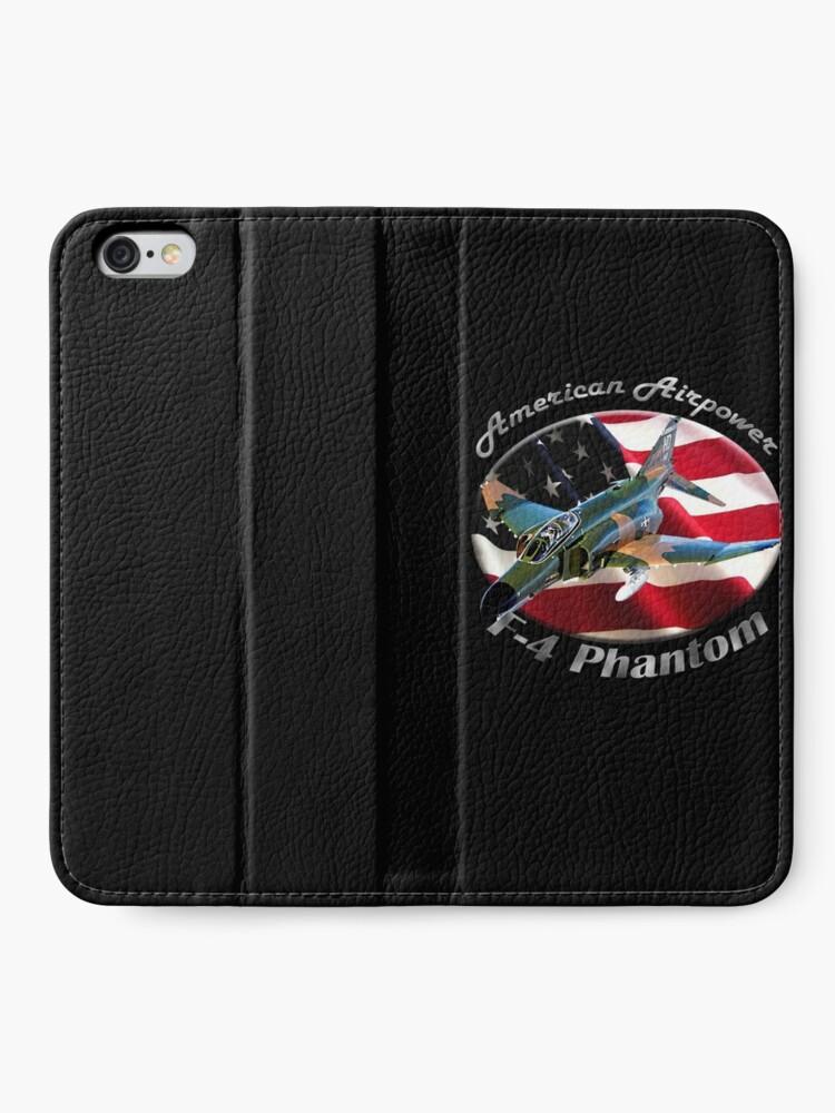 Alternate view of F-4 Phantom American Airpower iPhone Wallet