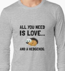 Love And A Hedgehog T-Shirt