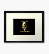 Citizen: MiddleEarth Framed Print
