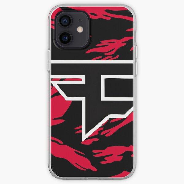 Logotipo de Faze Clan más vendido Funda blanda para iPhone