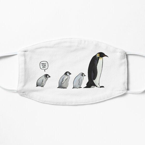 Emperor Penguins Flat Mask