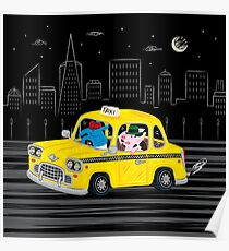 Taxi Ride Poster