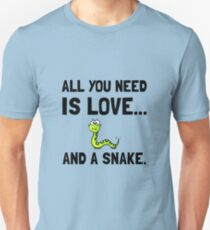 Love And A Snake T-Shirt