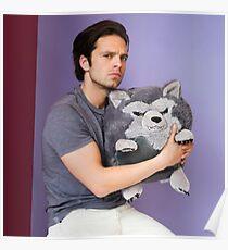 Sebastian Stan and Friend <3 Poster