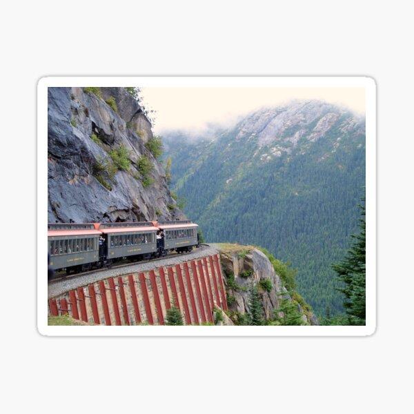 White Pass Railway, Near Skagway, Alaska Sticker
