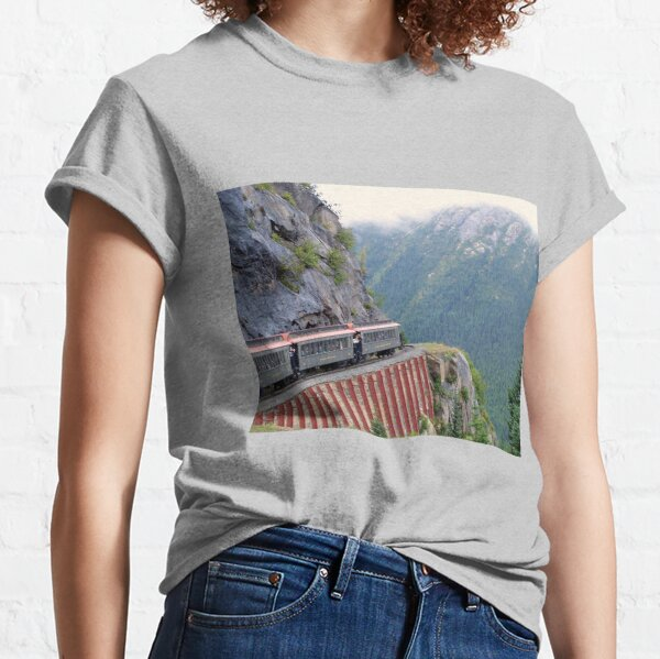 White Pass Railway, Near Skagway, Alaska Classic T-Shirt