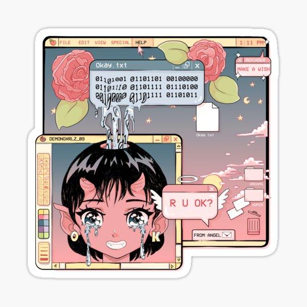R U OK? Sticker