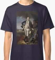 Vintage famous art - Charles Willson Peale - George Washington Classic T-Shirt