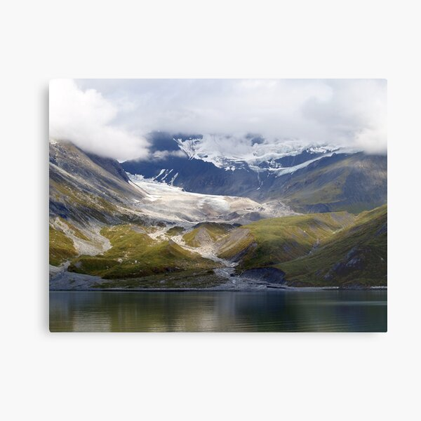 Mendenhall Glacier, Near Juno Alaska Metal Print
