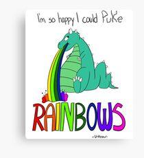 Rainbow Sarcasm Canvas Print