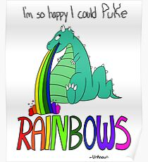 Rainbow Sarcasm Poster